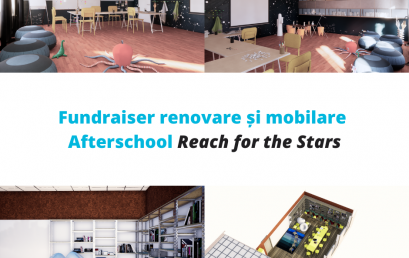 Fundraiser: Renovating classrooms for afterschool programmes for disadvantaged children in Darvari, Ilfov County – Reach for the Stars