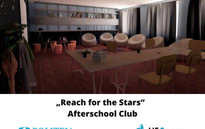"Un nou proiect la Dîrvari: ""Reach for the Stars""  – Afterschool Club"