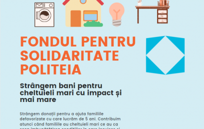 Tombolă caritabilă pentru Fondul pentru Solidaritate Politeia